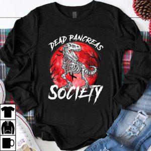 Top Halloween Dinosaur Diabetes Awareness Dead Pancreas Society shirt