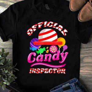 Top Halloween Official Candy Inspector shirt