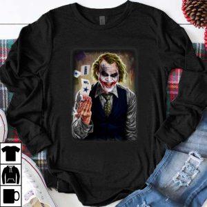 Top Joker Heath Ledger Dallas Cowboys NFL shirt