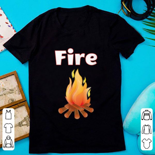 Top Matching Couple Halloween Costume - Fire and Ice shirt