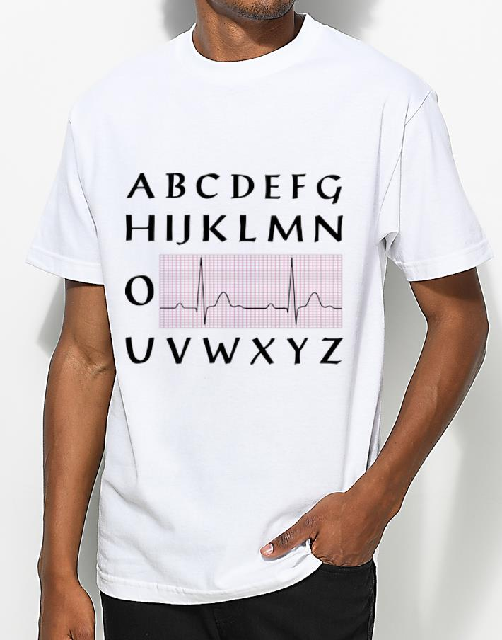 Top PQRST Nurse Alphabet Heartbeat shirt 4 - Top PQRST Nurse Alphabet Heartbeat shirt