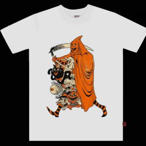 Top Saint Halloween Grim Reaper shirt
