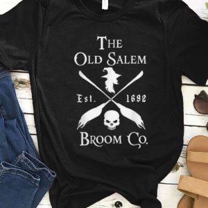 Top The Old Salem Broom Company Est 1692 Halloween shirt