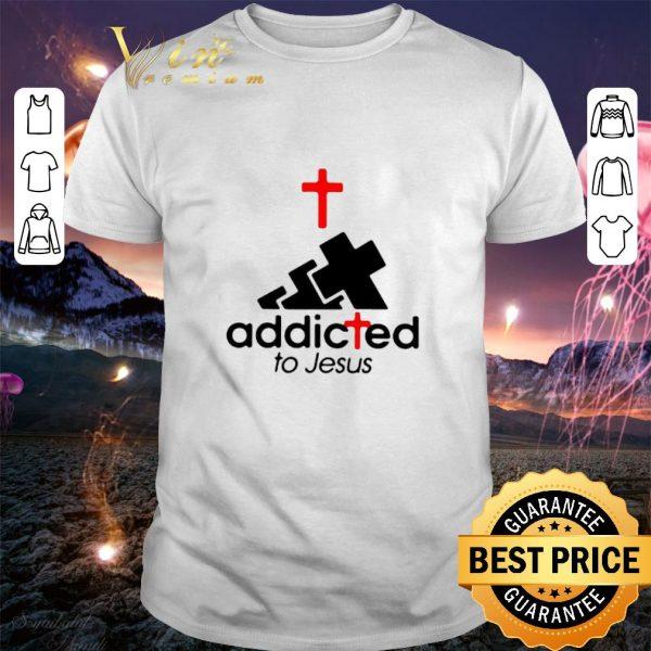 adidas addicted to Jesus shirt