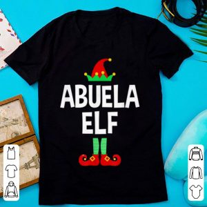Abuela Elf Family Christmas Pajamas sweater