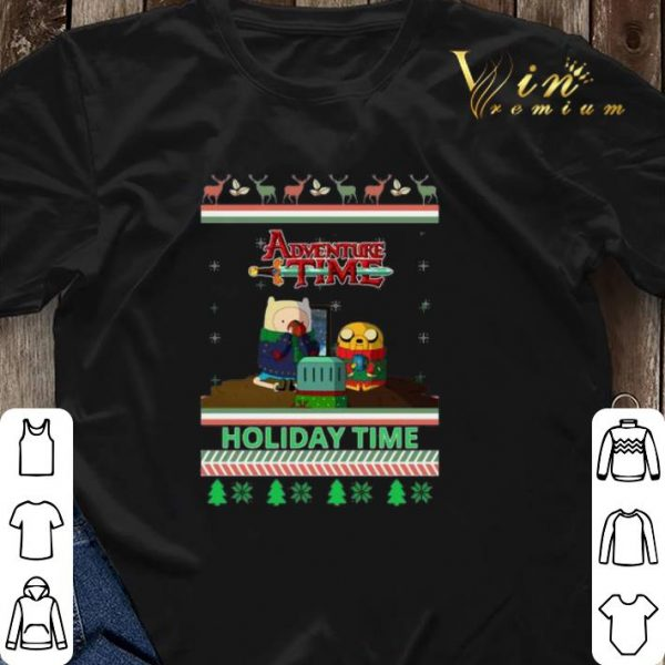 Adventure Time Holiday Time Ugly Christmas shirt sweater