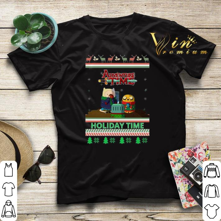 Adventure Time Holiday Time Ugly Christmas shirt sweater 4 - Adventure Time Holiday Time Ugly Christmas shirt sweater