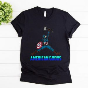 Awesome Captain America Air Rogers American Goods shirt