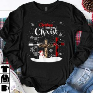 Awesome Christmas Begins With Christ Costume Xmas Gifts shirt