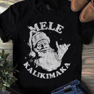 Awesome Christmas Mele Kalikimaka Santa Shaka shirt