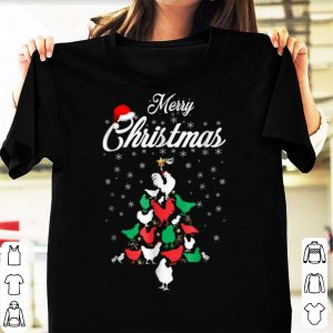 Awesome Christmas Tree Merry Christmas Chicken Lover Gift shirt