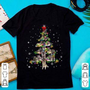 Awesome Cute Norwegian Elkhound dog Christmas Tree gift decor Xmas shirt