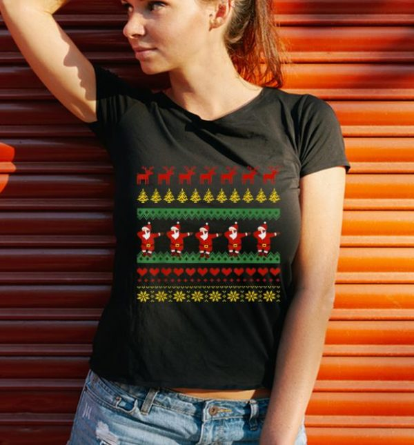 Awesome Dab Santa Claus Kids Men Women Ugly Xmas Christmas shirt