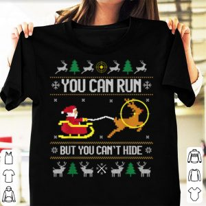 Awesome Deer Hunting Santa Claus Hunter Hunt Ugly Christmas Sweater shirt