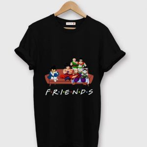 Awesome Friends Tv Show Goku Vegeta and Dragon Ball Characters shirt
