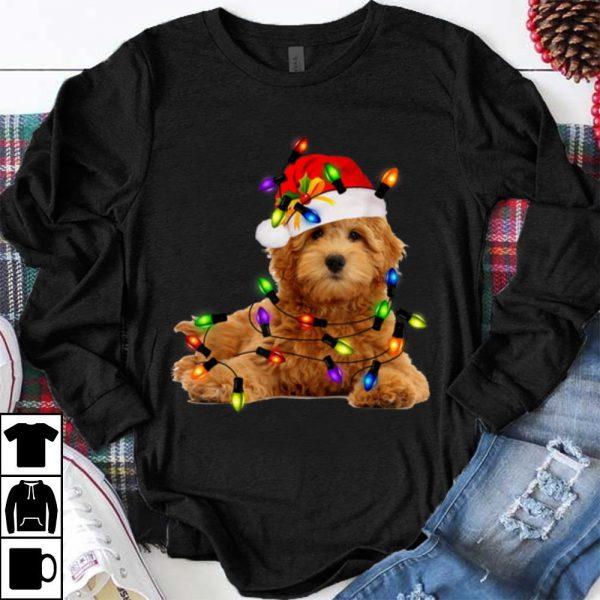 Awesome Goldendoodle Christmas Santa Funny Dog Lover Gift shirt