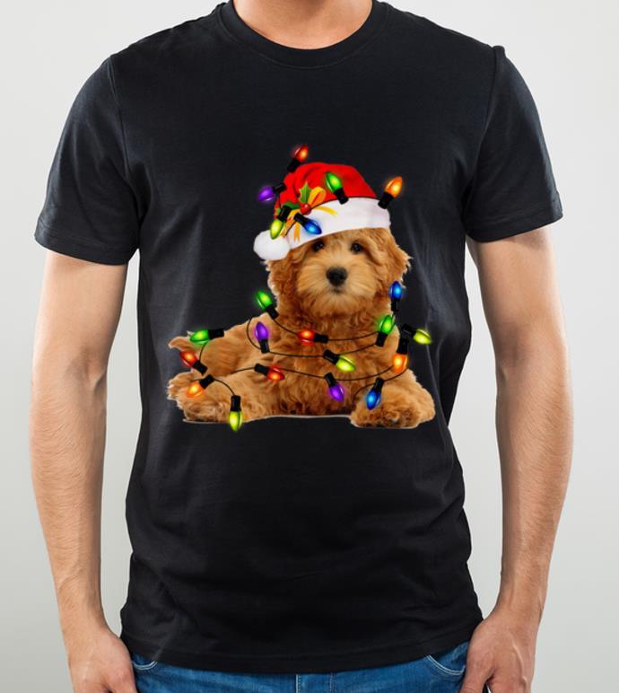 Awesome Goldendoodle Christmas Santa Funny Dog Lover Gift shirt 4 - Awesome Goldendoodle Christmas Santa Funny Dog Lover Gift shirt