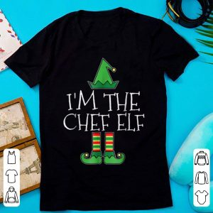 Awesome I'm The Chef Elf Matching Family Group Christmas shirt