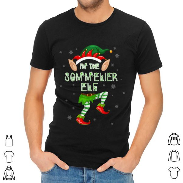 Awesome I'm The Sommelier Elf Matching Family Merry Christmas sweater