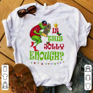 Awesome Is This Jolly Enough Christmas Grinch Washington's Champs shirt