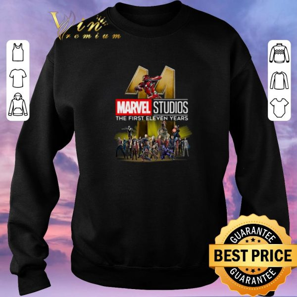 Awesome Marvel Studio The First Eleven Years shirt sweater