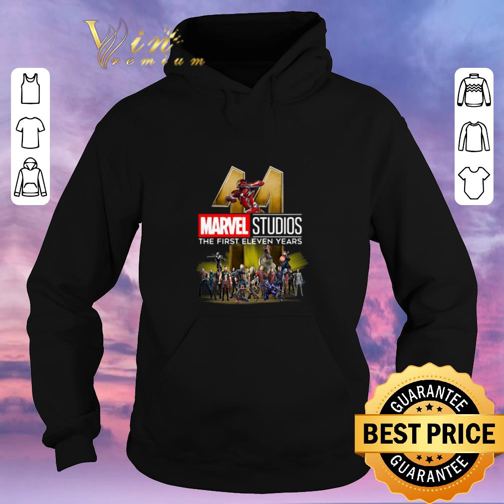 Awesome Marvel Studio The First Eleven Years shirt sweater 4 - Awesome Marvel Studio The First Eleven Years shirt sweater