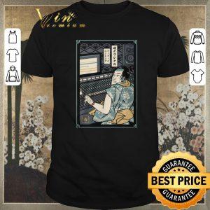 Awesome Samurai Audio Engineer shirt