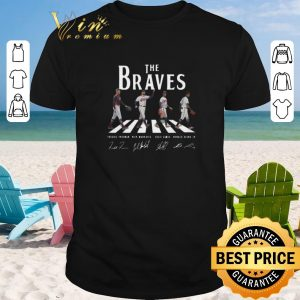Awesome Signatures Atlanta Braves The Braves Abbey Road shirt