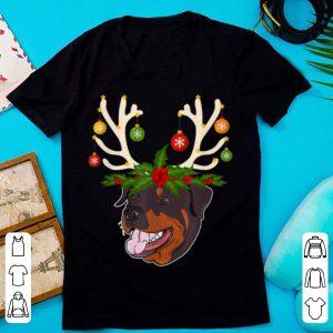 Christmas Rottweiler Reindeer Lover Gift sweater