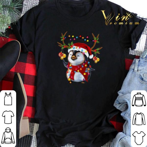 Christmas Santa Penguin Reindeer shirt