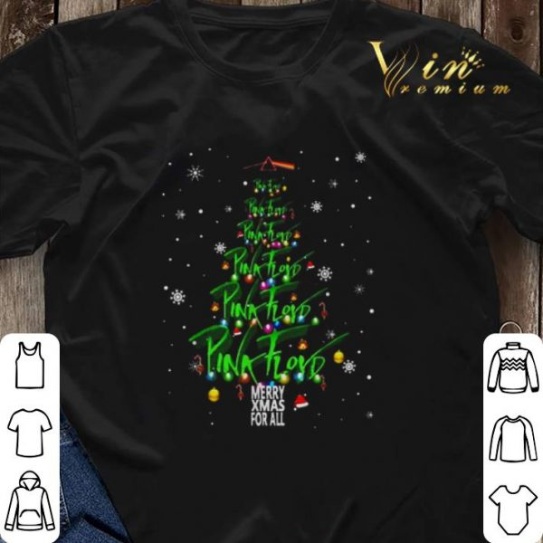 Christmas tree Pink Floyd Merry Xmax For All shirt
