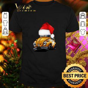 Cool Beetle Car Santa Christmas shirt