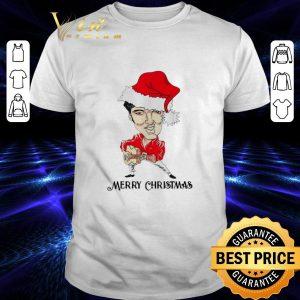 Cool Merry Christmas Elvis Presley santa shirt