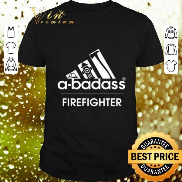 Cool adidas a-badass firefighter shirt