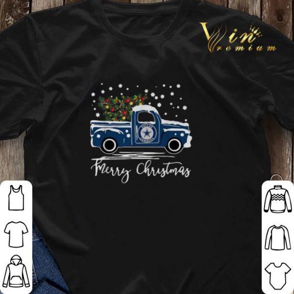 Dallas Cowboys truck Merry Christmas shirt sweater