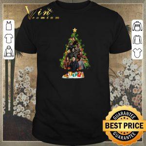 Funny Christmas Tree Supernatural characters shirt
