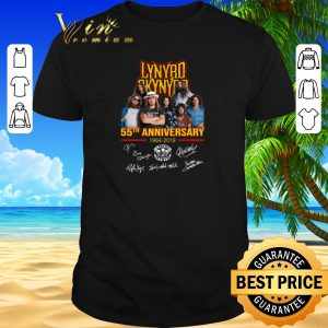 Funny Lynyrd Skynyrd 55th anniversary 1964-2019 signatures shirt sweater 2019