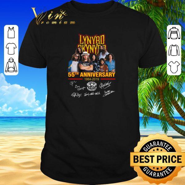 Funny Lynyrd Skynyrd 55th anniversary 1964-2019 signatures shirt sweater 2019