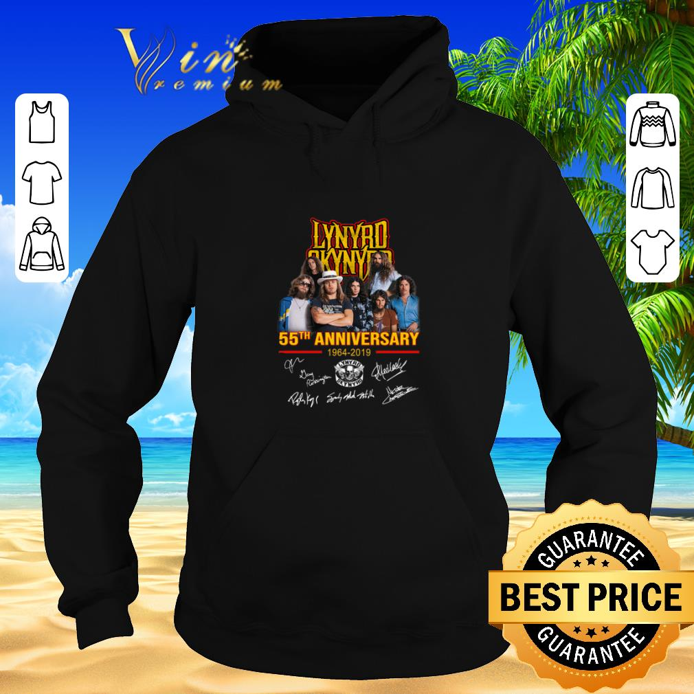 Funny Lynyrd Skynyrd 55th anniversary 1964 2019 signatures shirt sweater 2019 4 - Funny Lynyrd Skynyrd 55th anniversary 1964-2019 signatures shirt sweater 2019