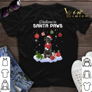 Great Dane i believe in Santa paws Christmas shirt