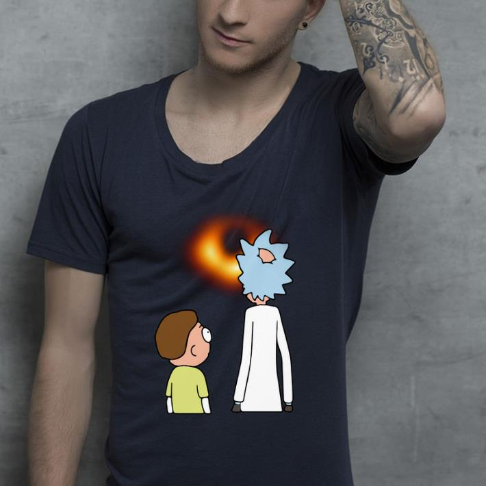 Great Rick And Morty Black Hole shirt 4 - Great Rick And Morty Black Hole shirt