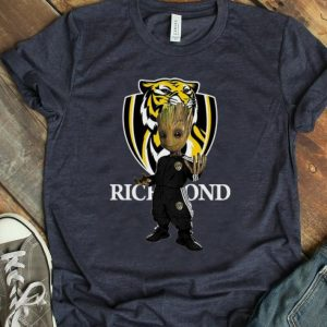 Hot Baby Groot Richmond Tiger shirt