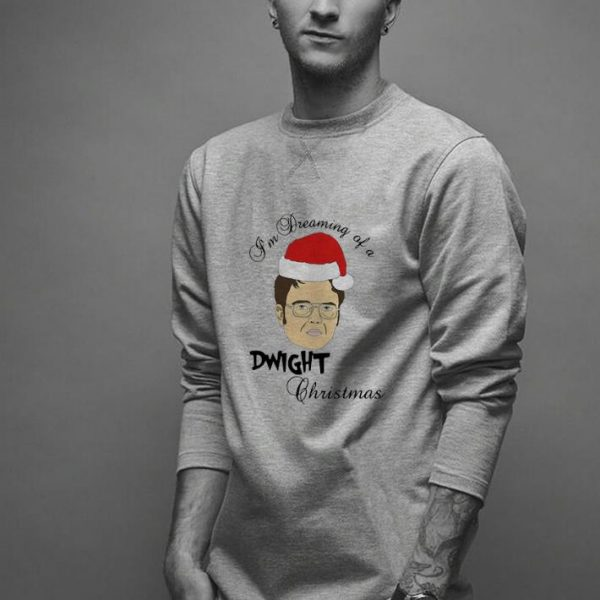 Hot Dwight Schrute I'm Dreaming Of A Dwight Christmas shirt