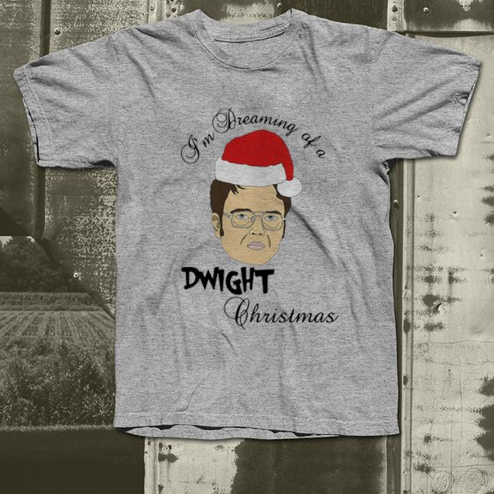 Hot Dwight Schrute I m Dreaming Of A Dwight Christmas shirt 4 - Hot Dwight Schrute I'm Dreaming Of A Dwight Christmas shirt