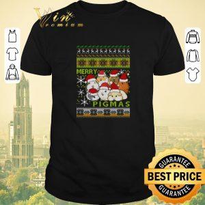 Hot Guinea pigs Merry Pigmas Ugly Christmas shirt sweater