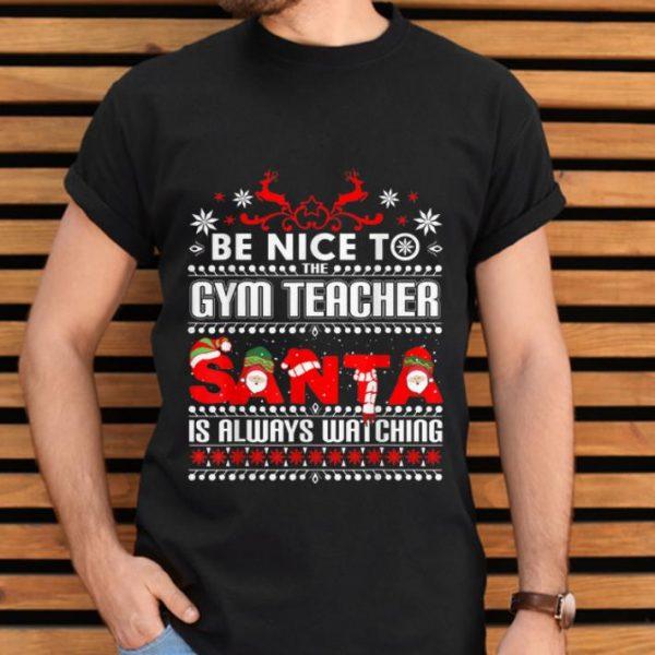 Hot Gym Teacher Ugly Christmas Sweater Gift Funny PE Teachers T-Shirt B07ZQWC3Q2.png
