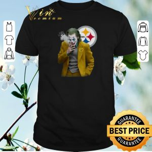 Hot Joker Joaquin Phoenix Pittsburgh Steelers shirt sweater