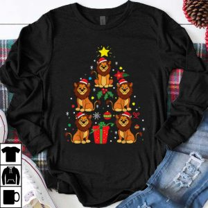 Hot Lion Christmas Ornament Tree Funny Zookeeper Zoo Gift shirt