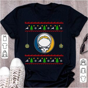 Hot Los Angeles Charger Christmas Ugly Sweater Skull shirt