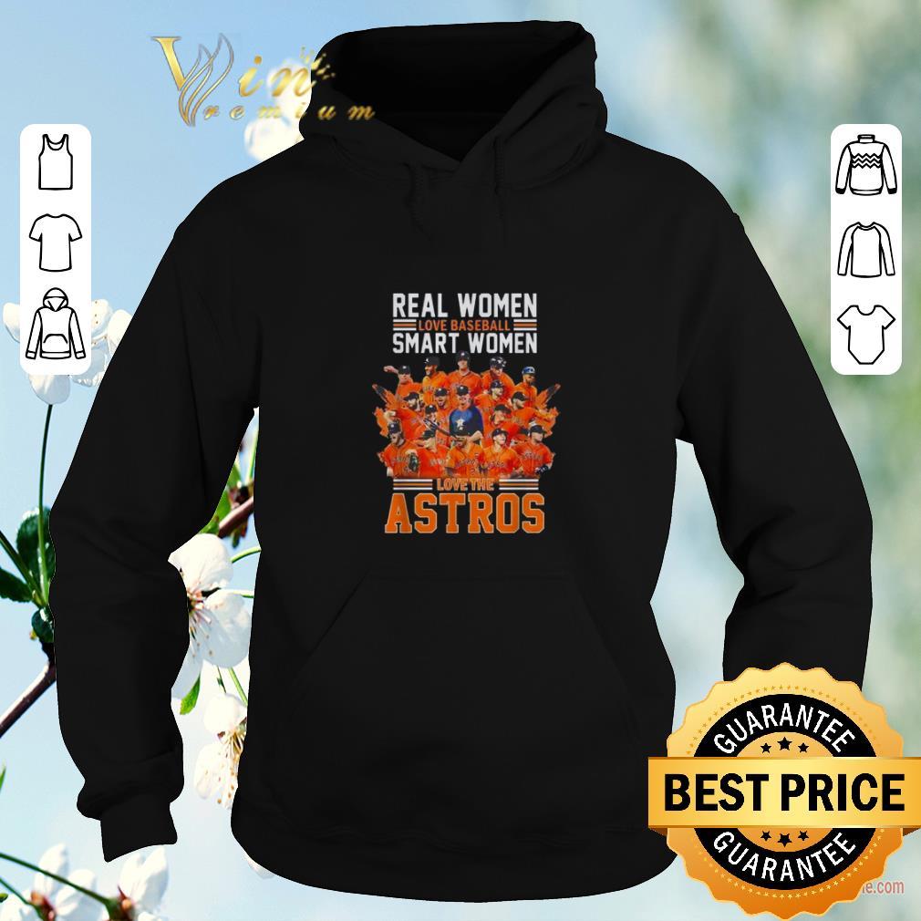 Hot Real women love baseball smart women love Houston Astros shirt sweater 4 - Hot Real women love baseball smart women love Houston Astros shirt sweater